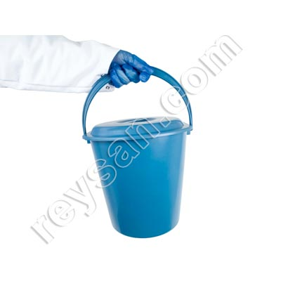 Detectable Buckets/Pails 10 L with lid