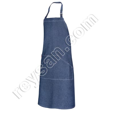 DENIM PETO APRON