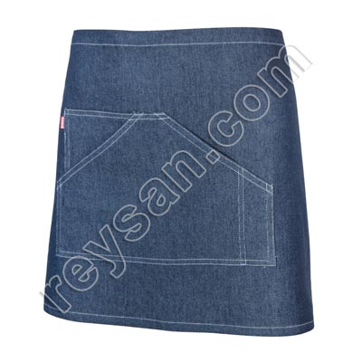 SHORT DENIM APRON
