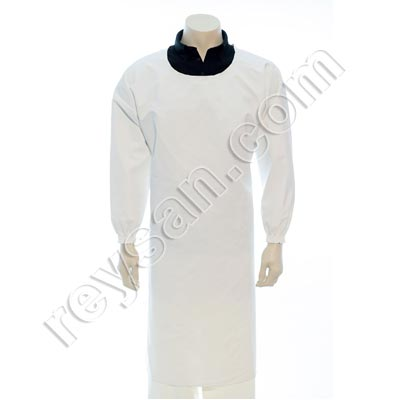 PVC PROFESSIONAL APRON WITH SLEEVES