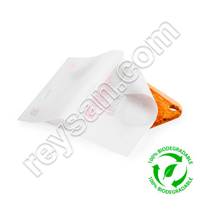 BIODEGRADABLE SULFIPAL FOOD PAPER