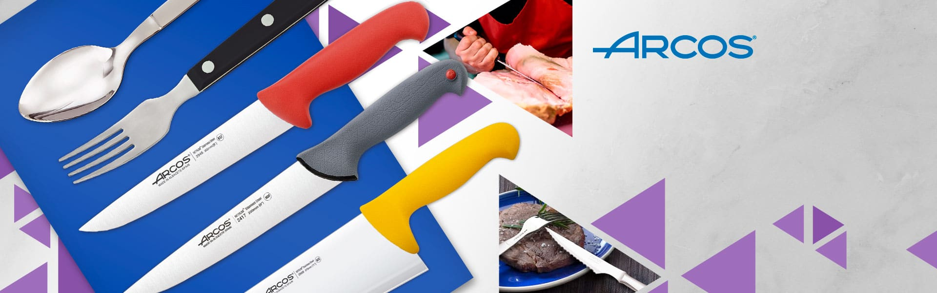 New brand ARCOS, professional cutlery