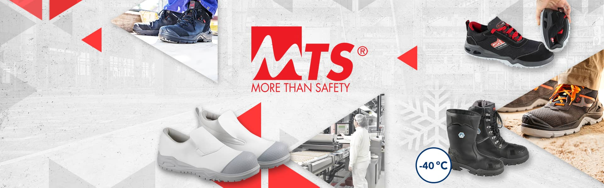 MTS safety footwear