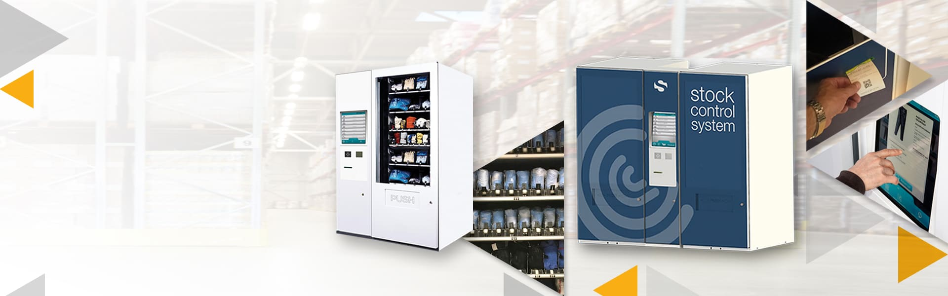 REYSAN JUST TOUCH AND VENDING